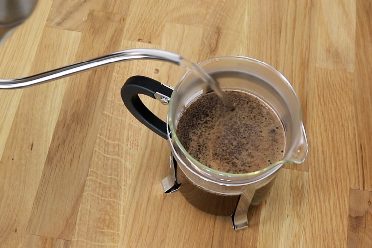 Mahlgrad Kaffee French Press